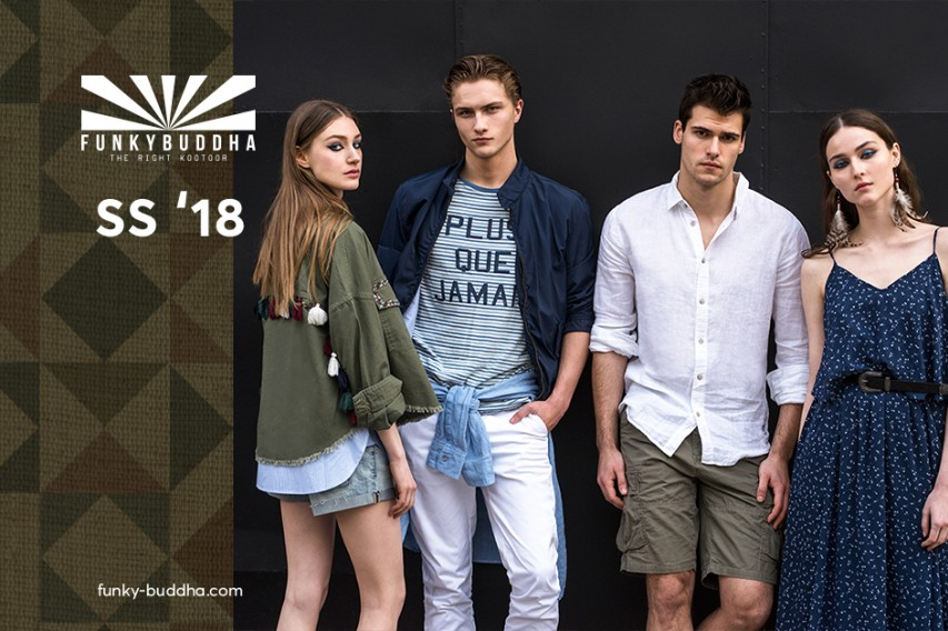 Funky Buddha urban tropical campaign SS' 18!