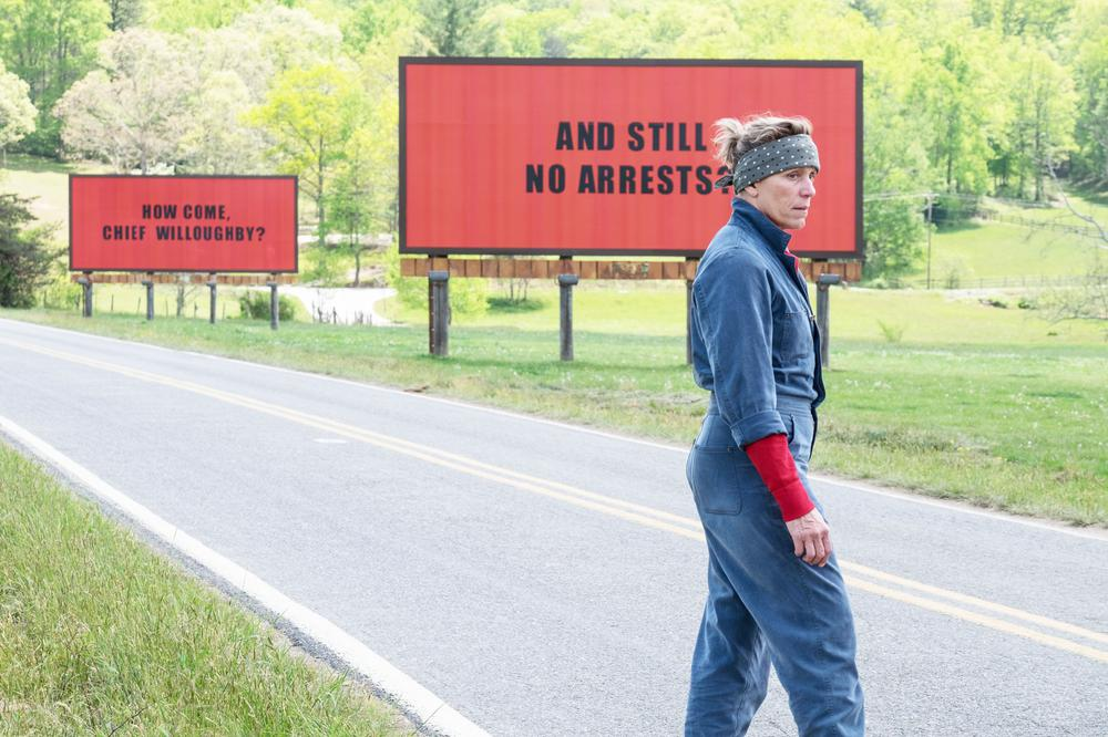 Photo courtesy of Fox Searchlight Pictures||http://umlconnector.com/2017/12/three-billboards-outside-ebbing-missouri-the-dark-comedy-everyone-should-see/