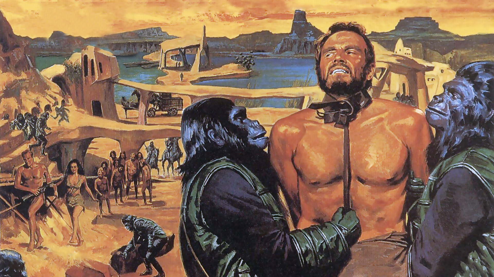 电影 / Planet of the Apes (1968)||https://wall.alphacoders.com/big.php?i=794111&lang=Chinese